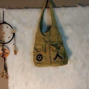 Cute little bucket hippy boho purse